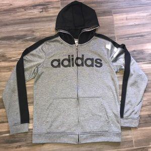 Adidas Boys Zip Up XL